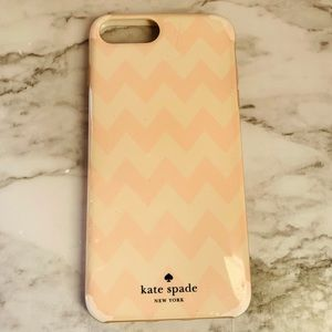 iPhone 7/8 Plus Chevron Kate Spade Case